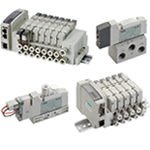 3- and 5-port pneumatic valves